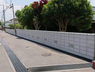 新居浜市 T様邸 ブロック塀新設工事